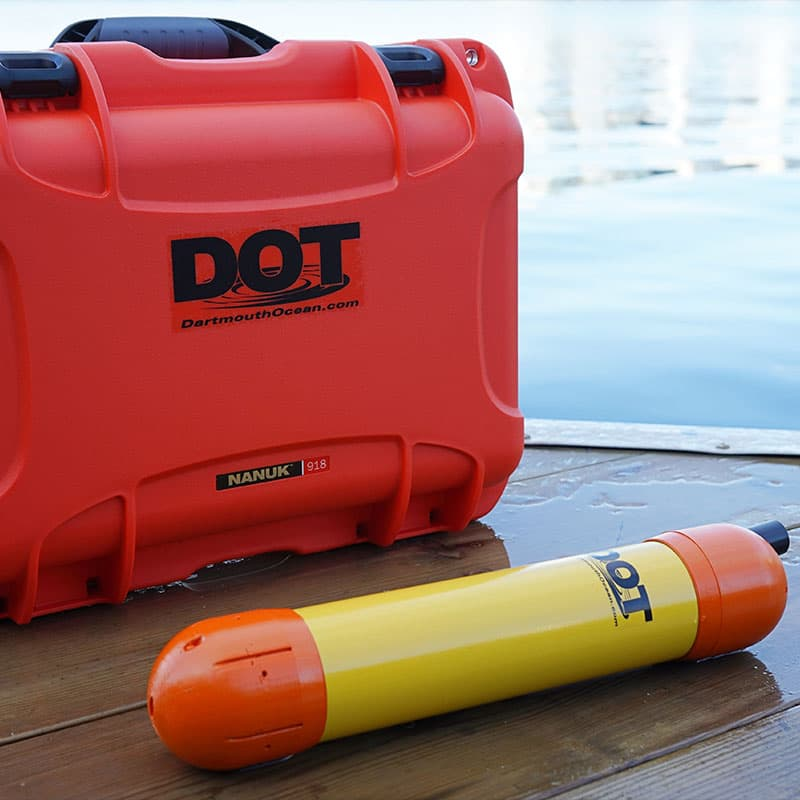 D-Profiler Water Survey Sensor with Nanuk case