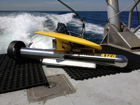 V-Wing 600 and EdgeTech 4125 Side Scan Sonar